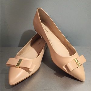 Cole Haan Elsie Bow Skimmer Flat size 6 1/2. New